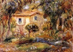 Pierre Auguste Renoir (1841-1919) Landscape Oil on canvas 1902 Private collection